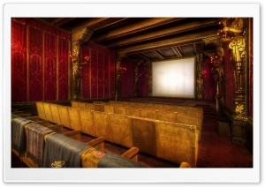 The Movie Theater At Hearst HD Wide Wallpaper for 4K UHD Widescreen desktop & smartphone