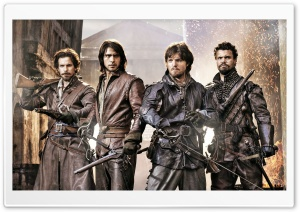 The Musketeers Cast HD Wide Wallpaper for Widescreen