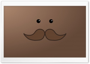 The Mysterious Moustache Man HD Wide Wallpaper for Widescreen
