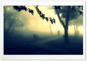 The Mystery Man At The Park HD Wide Wallpaper for 4K UHD Widescreen desktop & smartphone