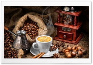 The Nicest Coffee HD Wide Wallpaper for 4K UHD Widescreen desktop & smartphone