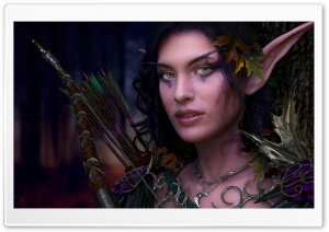 The Night Elf HD Wide Wallpaper for Widescreen