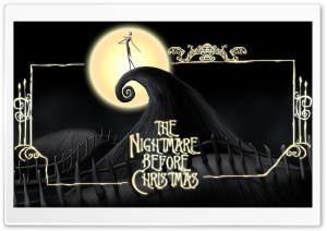 The Nightmare Before Christmas HD Wide Wallpaper for Widescreen