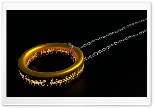 The One Ring HD Wide Wallpaper for Widescreen