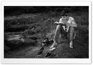 The Passion Of Reading HD Wide Wallpaper for Widescreen