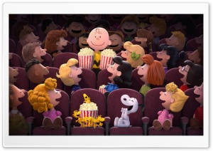 The Peanuts Cinema 2015 HD Wide Wallpaper for Widescreen
