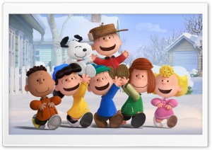 The Peanuts Gang 2015 Movie HD Wide Wallpaper for 4K UHD Widescreen desktop & smartphone