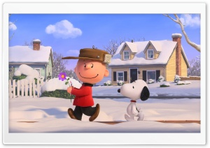 The Peanuts Movie 2015 HD Wide Wallpaper for Widescreen