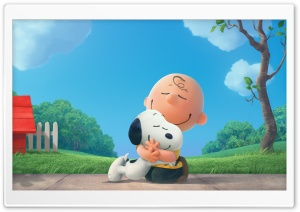 The Peanuts Snoopy and Charlie 2015 Movie HD Wide Wallpaper for Widescreen