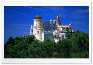 The Pena National Palace HD Wide Wallpaper for Widescreen