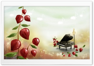 The Piano HD Wide Wallpaper for Widescreen