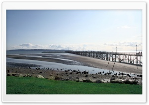 The Pier, White Rock, British Columbia, Canada HD Wide Wallpaper for Widescreen