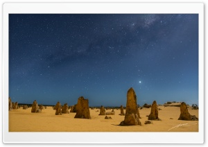 The Pinnacles in Western Australia HD Wide Wallpaper for Widescreen