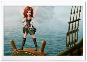 The Pirate Fairy Zarina HD Wide Wallpaper for Widescreen