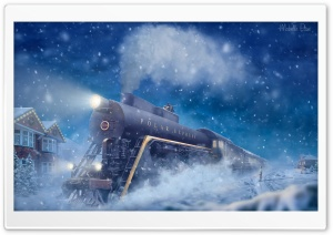 The Polar Express Ultra HD Wallpaper for 4K UHD Widescreen desktop, tablet & smartphone