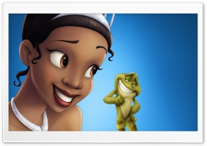 The Princess And The Frog HD Wide Wallpaper for 4K UHD Widescreen desktop & smartphone