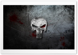 The Punisher Logo HD Wide Wallpaper for 4K UHD Widescreen desktop & smartphone