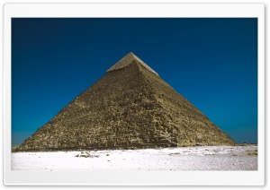 The Pyramids At Giza, Egypt HD Wide Wallpaper for Widescreen