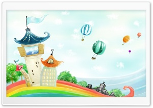 The Rainbow Realm HD Wide Wallpaper for Widescreen