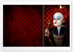 The Red Queen, Alice In Wonderland HD Wide Wallpaper for Widescreen