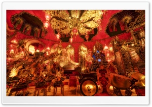 The Red Room, House On The Rock HD Wide Wallpaper for Widescreen