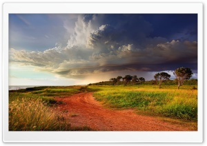 The Road Along The Ocean Shore Australia HD Wide Wallpaper for Widescreen