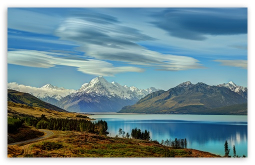 The Road to Mount Cook along Lake Pukaki ❤ 4K UHD Wallpaper for Wide 16:10 5:3 Widescreen WHXGA WQXGA WUXGA WXGA WGA ; 4K UHD 16:9 Ultra High Definition 2160p 1440p 1080p 900p 720p ; UHD 16:9 2160p 1440p 1080p 900p 720p ; Standard 4:3 5:4 3:2 Fullscreen UXGA XGA SVGA QSXGA SXGA DVGA HVGA HQVGA ( Apple PowerBook G4 iPhone 4 3G 3GS iPod Touch ) ; Tablet 1:1 ; iPad 1/2/Mini ; Mobile 4:3 5:3 3:2 16:9 5:4 - UXGA XGA SVGA WGA DVGA HVGA HQVGA ( Apple PowerBook G4 iPhone 4 3G 3GS iPod Touch ) 2160p 1440p 1080p 900p 720p QSXGA SXGA ; Dual 16:10 4:3 5:4 WHXGA WQXGA WUXGA WXGA UXGA XGA SVGA QSXGA SXGA ;