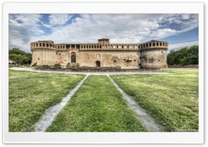 The Rocca Sforzesca Imola, Italy HD Wide Wallpaper for Widescreen