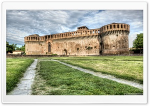 The Rocca Sforzesca of Imola Italy HD Wide Wallpaper for Widescreen