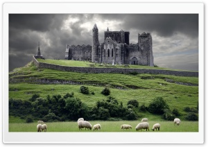 The Rock of Cashel, Ireland, Europe HD Wide Wallpaper for 4K UHD Widescreen desktop & smartphone