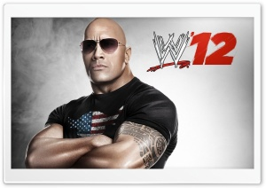 The Rock WWE 12 HD Wide Wallpaper for Widescreen