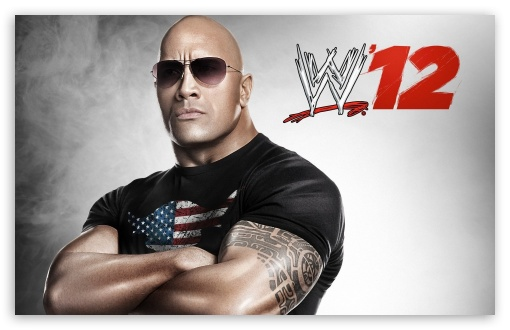 The Rock WWE 12 HD wallpaper for Standard 4:3 Fullscreen UXGA XGA SVGA ; Wide 16:10 5:3 Widescreen WHXGA WQXGA WUXGA WXGA WGA ; HD 16:9 High Definition WQHD QWXGA 1080p 900p 720p QHD nHD ; Other 3:2 DVGA HVGA HQVGA devices ( Apple PowerBook G4 iPhone 4 3G 3GS iPod Touch ) ; Mobile VGA WVGA iPhone iPad PSP - VGA QVGA Smartphone ( PocketPC GPS iPod Zune BlackBerry HTC Samsung LG Nokia Eten Asus ) WVGA WQVGA Smartphone ( HTC Samsung Sony Ericsson LG Vertu MIO ) HVGA Smartphone ( Apple iPhone iPod BlackBerry HTC Samsung Nokia ) Sony PSP Zune HD Zen ;