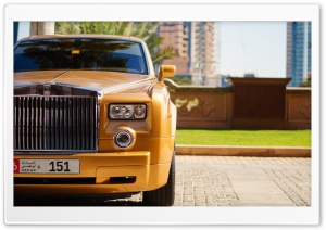 The Rolls-Royce HD Wide Wallpaper for Widescreen