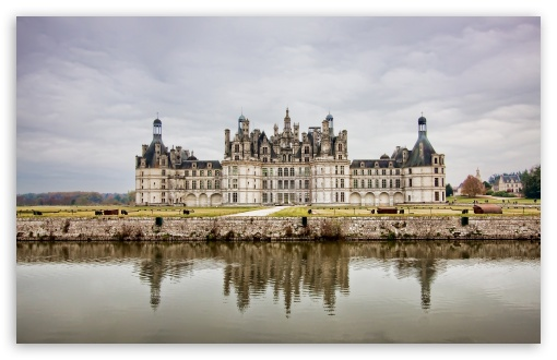 The Royal Chateau de Chambord at Chambord, Loir et Cher, France HD wallpaper for Wide 16:10 5:3 Widescreen WHXGA WQXGA WUXGA WXGA WGA ; HD 16:9 High Definition WQHD QWXGA 1080p 900p 720p QHD nHD ; Standard 4:3 5:4 3:2 Fullscreen UXGA XGA SVGA QSXGA SXGA DVGA HVGA HQVGA devices ( Apple PowerBook G4 iPhone 4 3G 3GS iPod Touch ) ; Tablet 1:1 ; iPad 1/2/Mini ; Mobile 4:3 5:3 3:2 16:9 5:4 - UXGA XGA SVGA WGA DVGA HVGA HQVGA devices ( Apple PowerBook G4 iPhone 4 3G 3GS iPod Touch ) WQHD QWXGA 1080p 900p 720p QHD nHD QSXGA SXGA ; Dual 4:3 5:4 UXGA XGA SVGA QSXGA SXGA ;