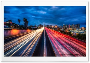 The San Diego Freeway HD Wide Wallpaper for 4K UHD Widescreen desktop & smartphone