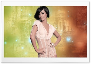 The Saturdays - Frankie Sandford HD Wide Wallpaper for Widescreen