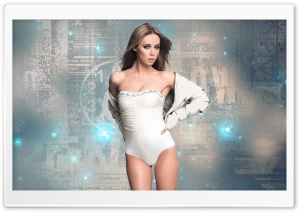 The Saturdays - Una Healy HD Wide Wallpaper for Widescreen