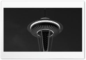 The Seattle Tower HD Wide Wallpaper for 4K UHD Widescreen desktop & smartphone
