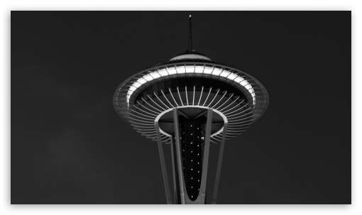 The Seattle Tower HD wallpaper for Tablet 1:1 ; iPad 1/2/Mini ; Mobile 4:3 5:3 3:2 16:9 - UXGA XGA SVGA WGA DVGA HVGA HQVGA devices ( Apple PowerBook G4 iPhone 4 3G 3GS iPod Touch ) WQHD QWXGA 1080p 900p 720p QHD nHD ;