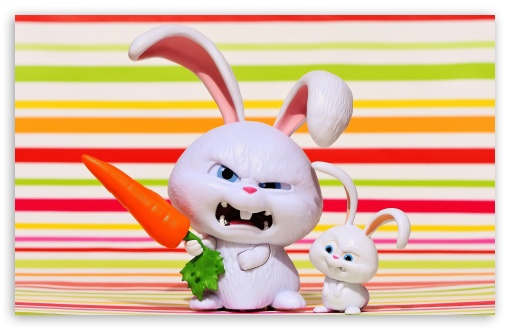 The Secret Life Of Pets Wallpaper: The Secret Life Of Pets Snowball Bunny 4K HD Desktop