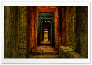 The Secret Passageway to the Treasure HD Wide Wallpaper for Widescreen