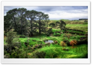 The Shire Ultra HD Wallpaper for 4K UHD Widescreen desktop, tablet & smartphone