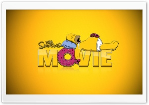 The Simpsons Movie HD Wide Wallpaper for Widescreen