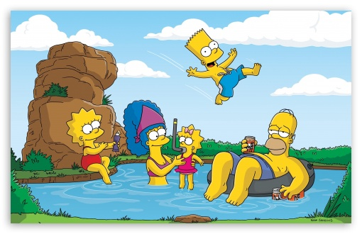 The Simpsons Summer Vacation HD wallpaper for Wide 16:10 5:3 Widescreen WHXGA WQXGA WUXGA WXGA WGA ; Standard 4:3 5:4 3:2 Fullscreen UXGA XGA SVGA QSXGA SXGA DVGA HVGA HQVGA devices ( Apple PowerBook G4 iPhone 4 3G 3GS iPod Touch ) ; Tablet 1:1 ; iPad 1/2/Mini ; Mobile 4:3 5:3 3:2 5:4 - UXGA XGA SVGA WGA DVGA HVGA HQVGA devices ( Apple PowerBook G4 iPhone 4 3G 3GS iPod Touch ) QSXGA SXGA ;