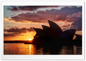 The Skies of Sydney HD Wide Wallpaper for Widescreen