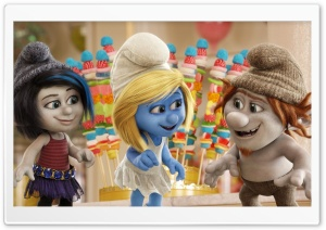 The Smurfs 2 HD Wide Wallpaper for Widescreen