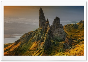 The Storr Hill, Scotland HD Wide Wallpaper for Widescreen