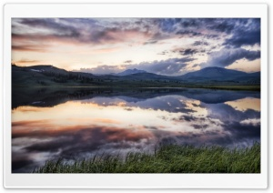 The Sunset At Yellowstone HD Wide Wallpaper for Widescreen