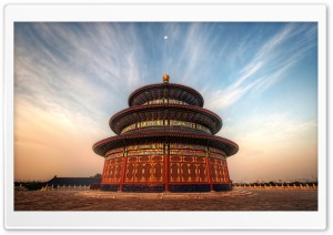 The Temple Of Heaven China HD Wide Wallpaper for 4K UHD Widescreen desktop & smartphone