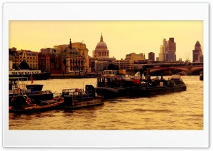 The Thames HD Wide Wallpaper for Widescreen